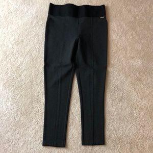 Caving Klein Dark Gray Power Stretch Leggings